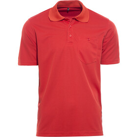 axant Alps Poloshirt Agion Active Heren, aurora red